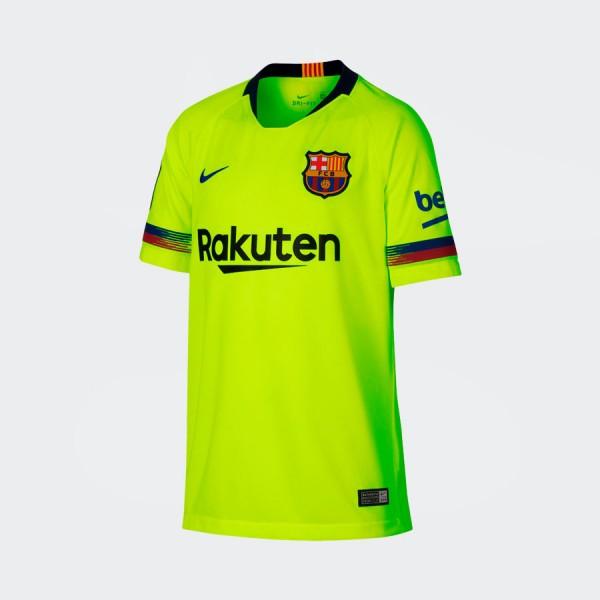 Jersey Infantil Nike Barcelona Away 18 2019
