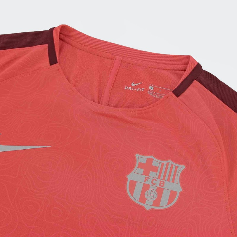 detailed look 5beb8 ab6e5 Jersey Nike Barcelona pre-match UCL niño 2018 2019