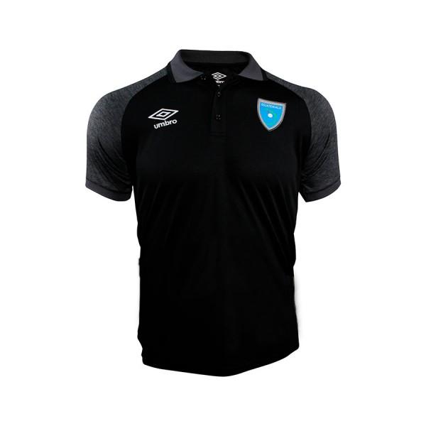 Camisa Polo Negra Selección Nacional 21-22