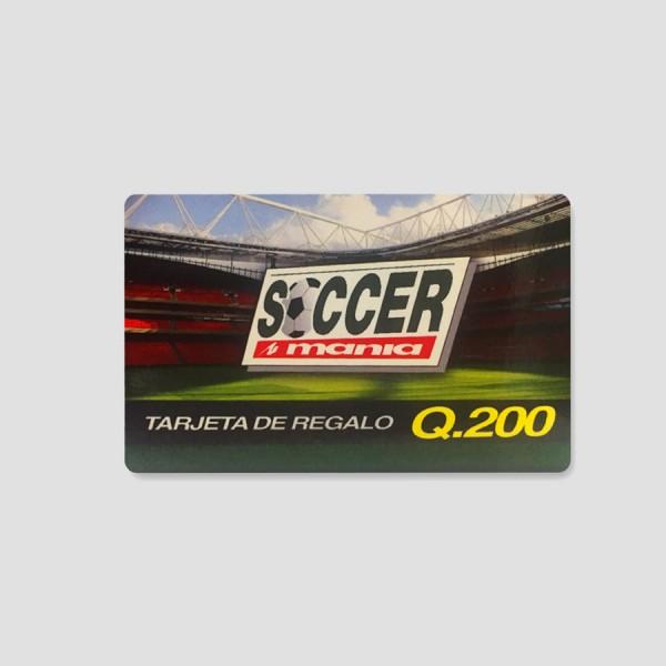 Tarjeta de Regalo Q 200