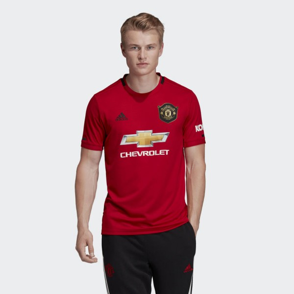 Manchester United Home Jersey 19