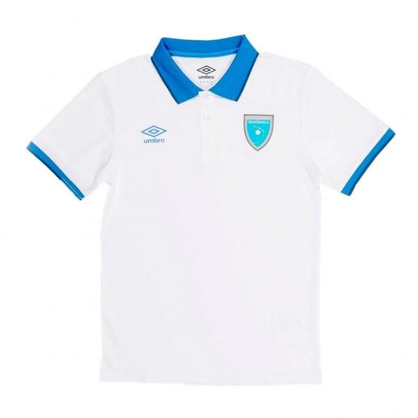 Camisa Polo Selección Nacional de Guatemala Blanco