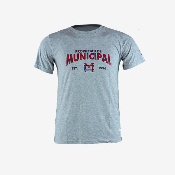 T-Shirt Municipal Gris