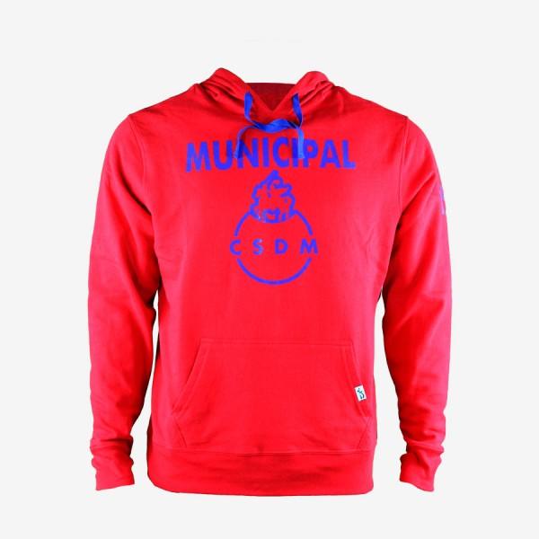 Hoodie Municipal CSDM Rojo