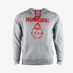 Hoodie Municipal Gris Logo