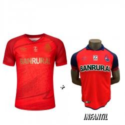 Camisola Roja 21-22 + Camisola Roja de Niño 2019