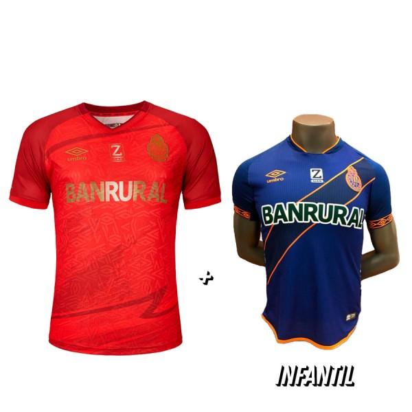 Camisola Roja 21-22 + Camisola Azul de Niño 2018