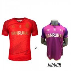 Camisola Roja 21-22 + Camisola Violeta de Niño