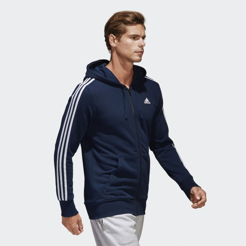 Sudadera Adidas Essentials 3 Stripes 39aa65653b1